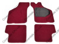 Austin Mini Overmats Set of 4 - Kensington Luxury Wool Range
